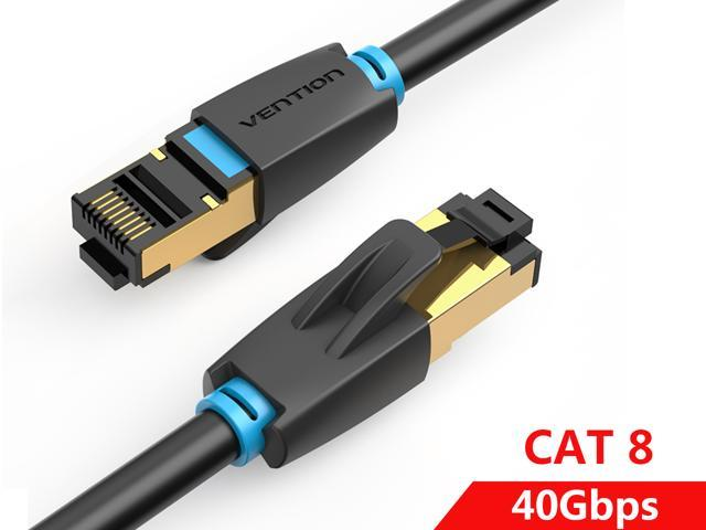 3M Cat8 Ethernet Cable RJ45 8P8C Network 2000Mhz High Speed Patch 25//40Gbps