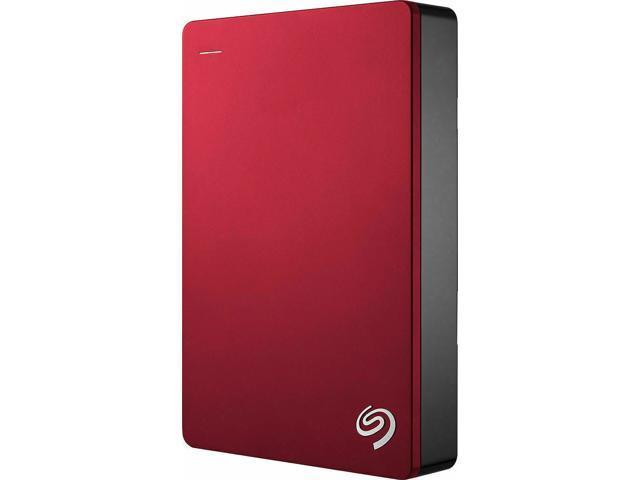 Seagate Backup Plus 5TB USB 3.0 Portable External Hard Drive Red STDR5000103