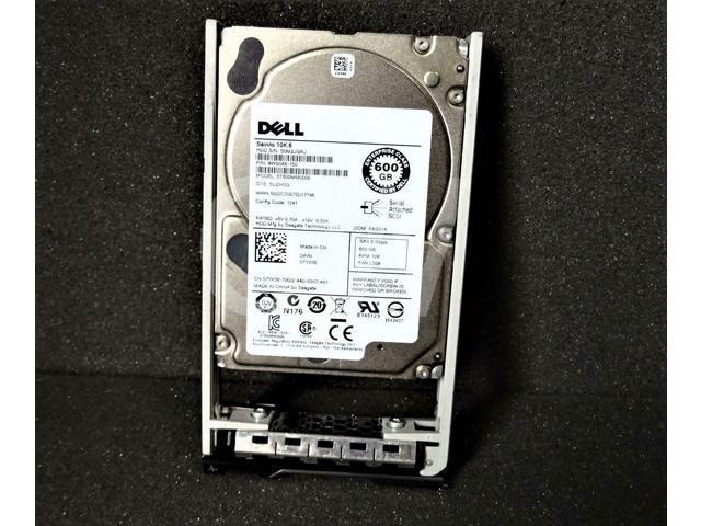 Dell 07YX58 600GB 10k RPM 2.5 64MB SAS-6Gb//s HDD Certified Refurbished