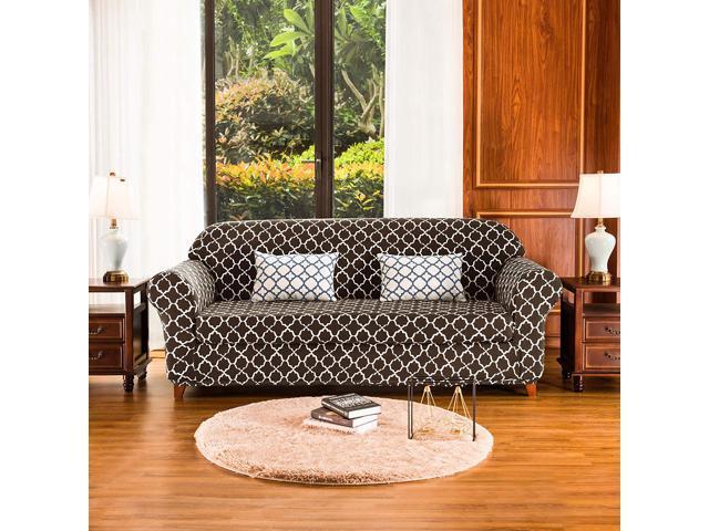 Subrtex Sofa Slipcovers Stretch Couch Protector Covers 2-Piece Spandex  Printing Furniture Cover Home Decor(Sofa,Coffee) - Newegg.com