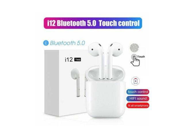 EFS I12 TWS Bluetooth 5 0 Headset Wireless Earphones Smart Touch Control  Earbuds Headphone With Charging Base - Newegg com