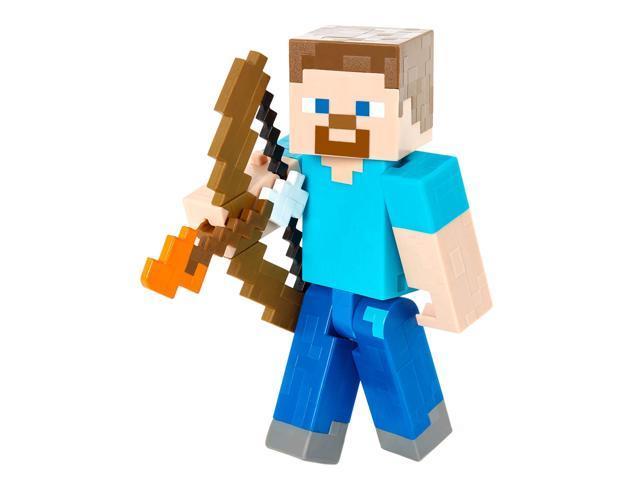 Minecraft Steve With Bow And Arrow Figure Newegg Com