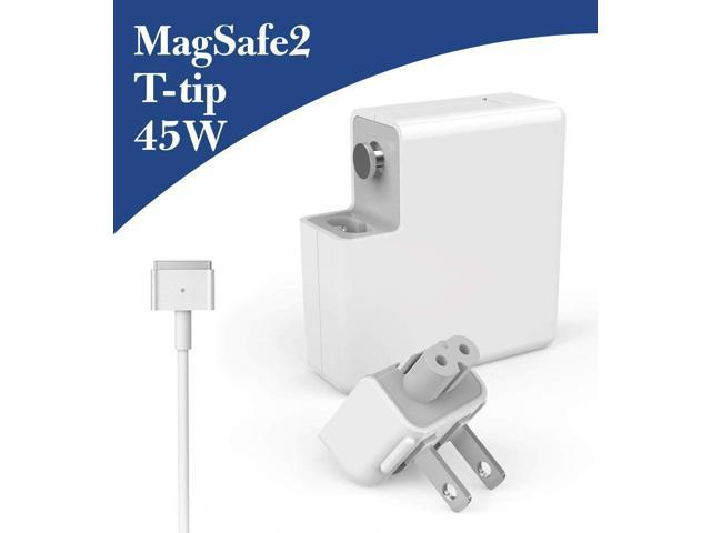 45W MagSafe 2 Power Adapter Magnetic T-Tip Ac Charger for MacBook Air 11-inch and 13-inch 45W Replacement for Mac-Book Air Charger
