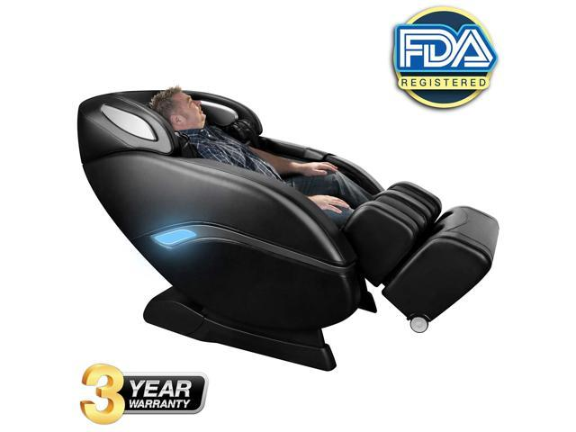 OOTORI Massage Chair Recliner, 3D Robert SL Track Zero Gravity Massage Chair with Space Saving,Full Body Air Massaging Chairs, Yoga Stretching,