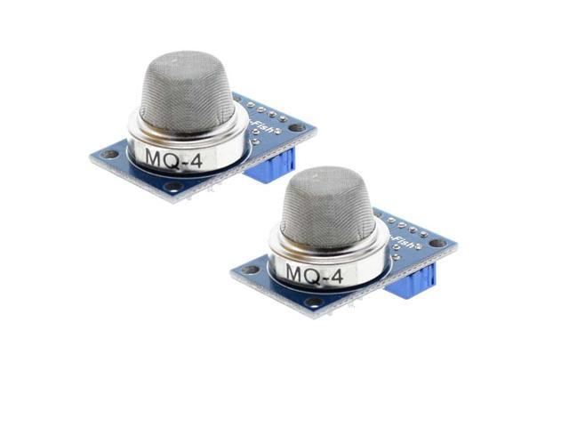 2PCS MQ-4 Methane Gas Sensor Natural Coal Co Methane Detector Module for  Arduino - Newegg com