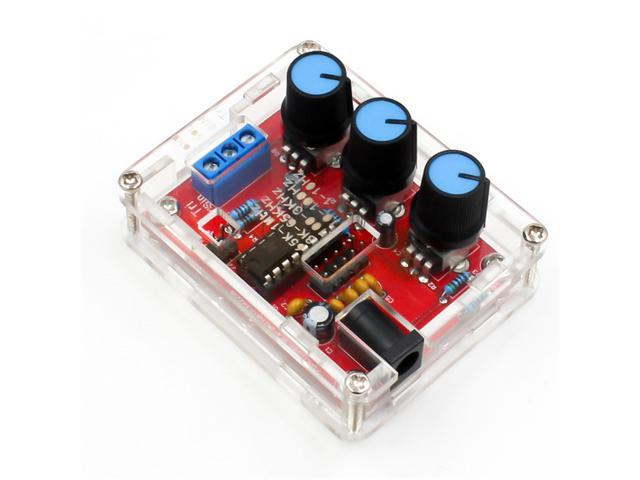 XR2206 Sine Triangle Square Output 1HZ-1MHZ Function Signal Generator DIY Kits