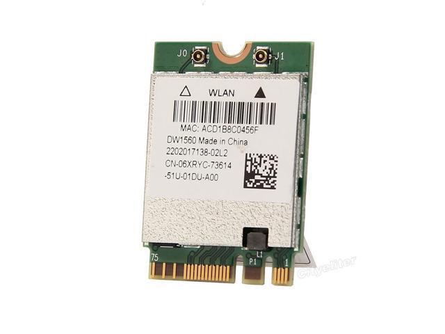 867mbps Broadcom Bcm94352z Dw1560 6xryc 802 11 Ac Bluetooth 4 0 Wifi Wlan Card Newegg Com