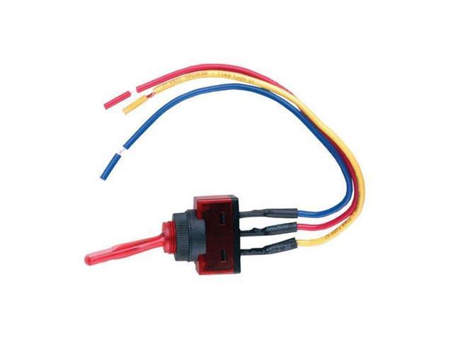 Nippon Is Ec It1220red, Illuminated Rocker Switch Wiring