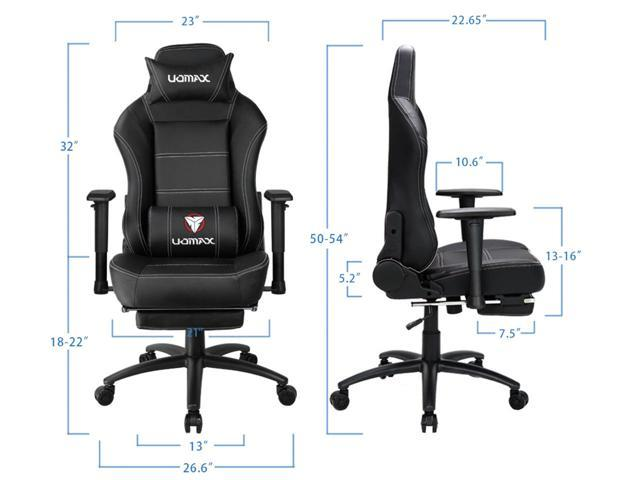 Fantastic Uomax Gaming Chair Reclining Rocking Office Chair For Computer Racing Style Office Chair Recliner With Footrest And Massage Lumbar Support Pu Ncnpc Chair Design For Home Ncnpcorg