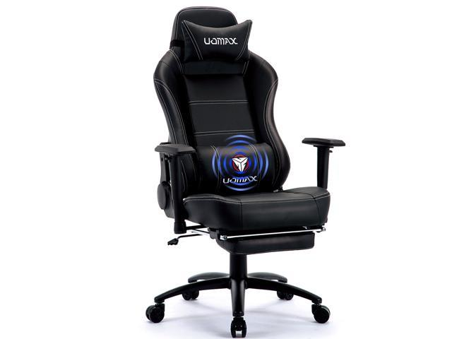 Fabulous Uomax Gaming Chair Reclining Rocking Office Chair For Computer Racing Style Office Chair Recliner With Footrest And Massage Lumbar Support Pu Forskolin Free Trial Chair Design Images Forskolin Free Trialorg