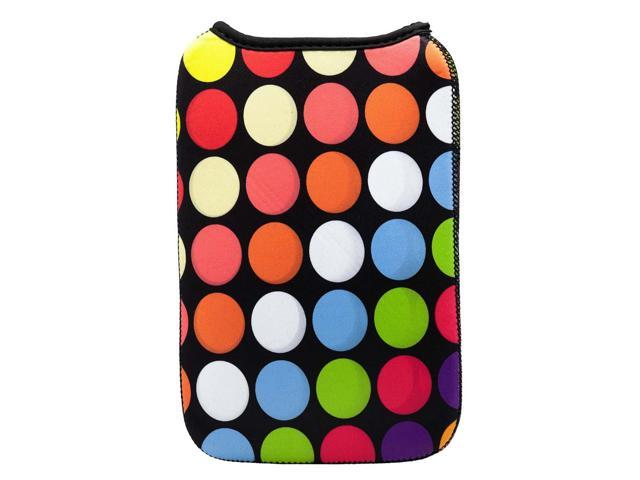 Luxburg® Luxury Design Case For Tablet PC/E-book Reader Kindle 7 Inch -  Multicolored Circles - Newegg com
