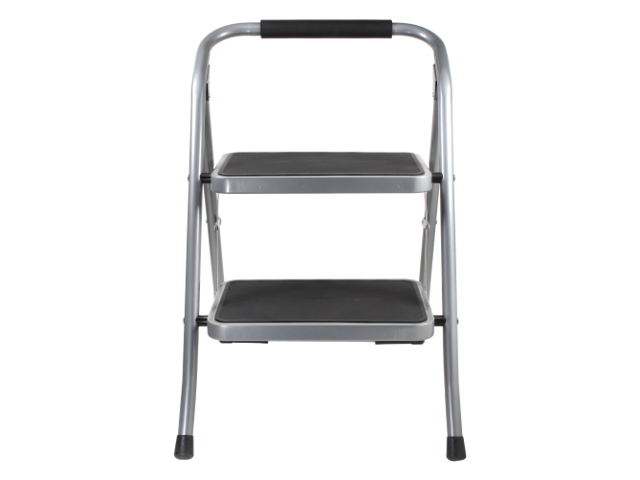 Tremendous Helping Hand 2 Step Folding Step Stool With Oversized Steps And 220 Lb Weight Capacity Machost Co Dining Chair Design Ideas Machostcouk