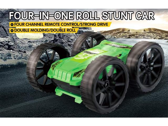 R/C Car Radio Controlled High Speed LED 360° Rotating Double-sided 4FWD Off  Road - Newegg com