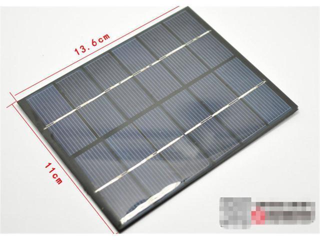 2W 6V 330mA Mini Solar Panel Module Solar System Epoxy Charger DIY B031 G