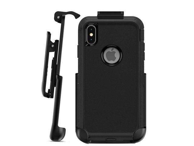 Black Belt Clip After Market Replacement for Otterbox iPhone Xs Max Defender