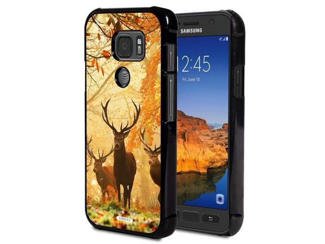 Galaxy S7 Active Case,AIRWEE Slim Anti-Scratch Shockproof PC Hard Back  Protective Cover Case Samsung Galaxy S7 Active(2016),Deer Hunting Camo -