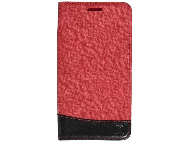 88084150748e Asmyna Wallet Case for LG LS770 (G Stylo) - Retail Packaging - Black/Red -  Newegg.com