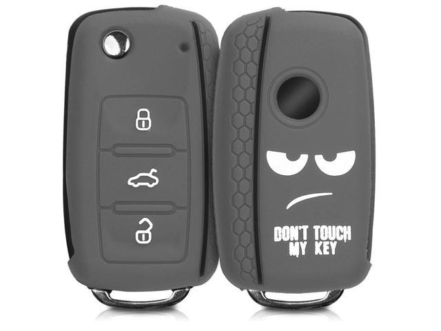 3 Buttons Protection Portable For VW Silicone Controller Case Car Key Cover