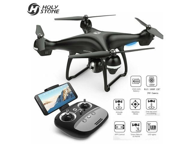 awesomemall HS100 GPS FPV Drone With 1080P HD Camera WIFI RC Quadcopter Follow ME