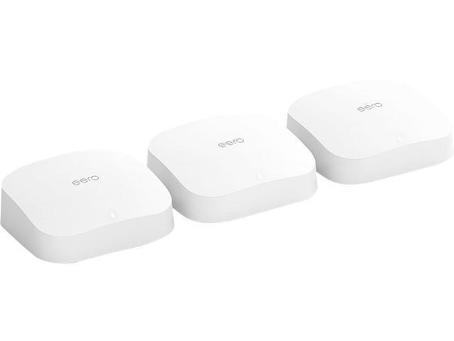 eero Pro 6 AX4200 Tri-Band Wi-Fi 6 Mesh Wifi System (3-pack) (K010311)