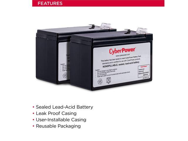 CyberPower OL1500RMXL2U 12V 7Ah UPS Battery This is an AJC Brand Replacement