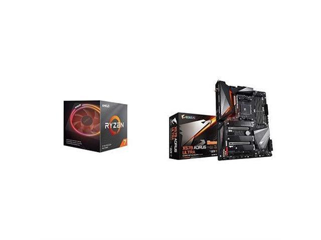 Amd Ryzen 7 3800x 8 Core 16 Thread Unlocked Desktop Processor With Wraith Prism Led Cooler With X570 Aorus Ultra Gaming Motherboard Newegg Com