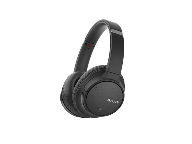 Sony WH-CH700N Wireless Noise Canceling Over-the-Ear Headphones - Black (Renewed)