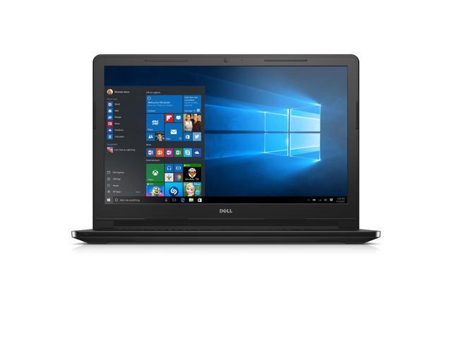 "Dell Inspiron 15 3000 i3552-4041BLK Laptop (Windows 10, Intel Celeron N3050, 15.6"" LED-lit Screen, Storage: 500 GB, RAM: 4 GB) Black (i3552-4041BLK)"