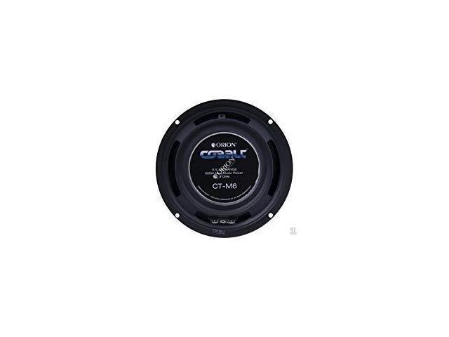 Pair Orion Cobalt Series CT-M6 6.5 600 Watts Max High Efficiency 4-Ohm Midrange Speakers