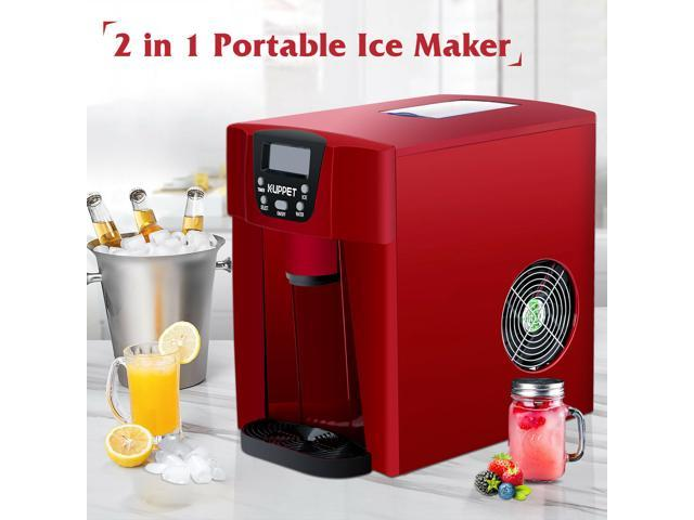 Compact Countertop Ice Cubes Maker