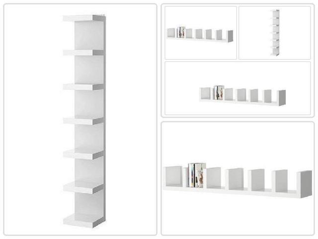 Lack Wall Shelf Unit White