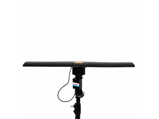 4K Outdoor 150Mile Amplified TV Antenna Digital Signal HD 17-23dB UHF//VHF 350°