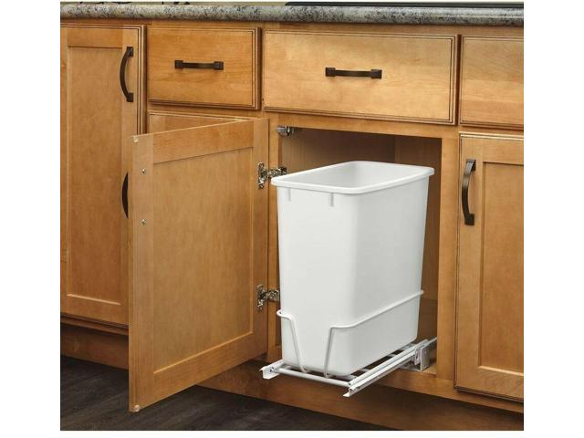 Pull Out Trash Can 20 Quart Universal