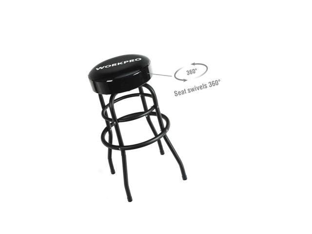 Awesome Workpro W112012A Swivel Shop Stool Newegg Com Bralicious Painted Fabric Chair Ideas Braliciousco