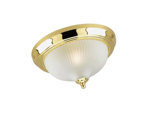 Westinghouse Lighting Corp 11 1 4 Inch Ceiling Fixture Polished Br Newegg