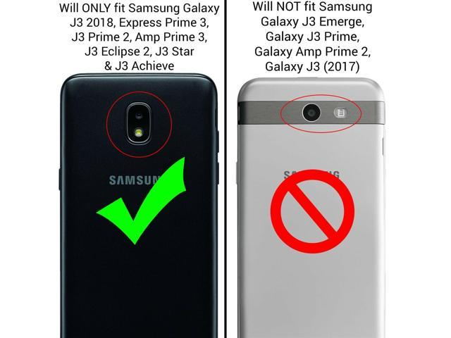 Black Case For Samsung Galaxy J3 2018 / Express Prime 3 / J3 Star / J3  Prime 2 - Newegg com