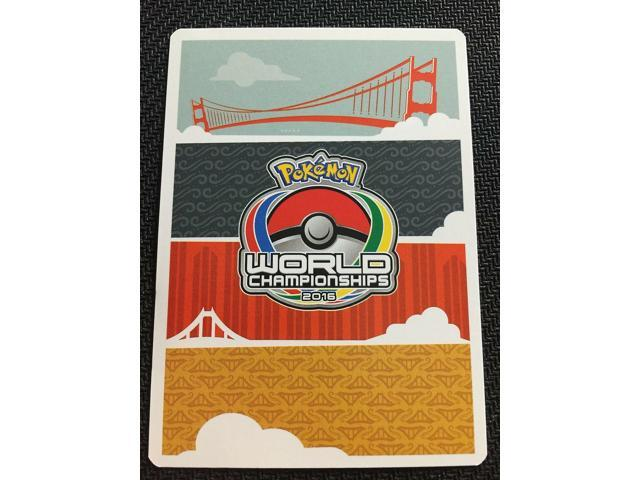 Pokemon TCG 4 X N 105//124 World Championship PROMO