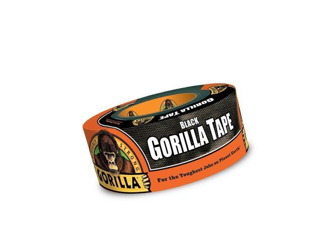 "Pack of 1 Gorilla Tape Black, Black Duct Tape 1.88/"" x 12 yd"