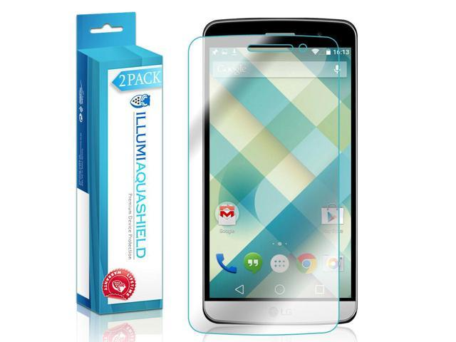 Back Protector for Samsung Galaxy Tab 4 8.0 2x iLLumi AquaShield Front Screen