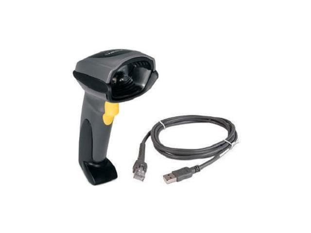 Zebra Motorola Symbol DS9808-SR00007NNWR Barcode Scanner with Usb Cable //Black