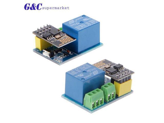 ESP8266 ESP 01S 5V WiFi Relay Module Things Smart Home Remote Control  Switch for Arduino Phone APP ESP01S Wireless WIFI Module - Newegg com