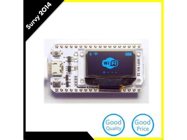 LoRa ESP32 0 96 Inch Blue OLED Display SX1278 Bluetooth WIFI Lora Kit 32  Module Internet Development Board For Arduino - Newegg com