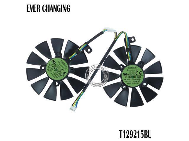 87MM T129215BU T129215SU Graphics Card Fan for ASUS ROG STRIX DUAL GTX 1070  GTX 1060 / RX 470/570/580 RX570 RX580 RTX2060 - Newegg com