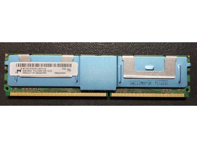 New Hynix 16GB 2x8GB 4Rx4 PC2-5300F DDR2-667MHz 240pin ECC FB-DIMM Server RAM
