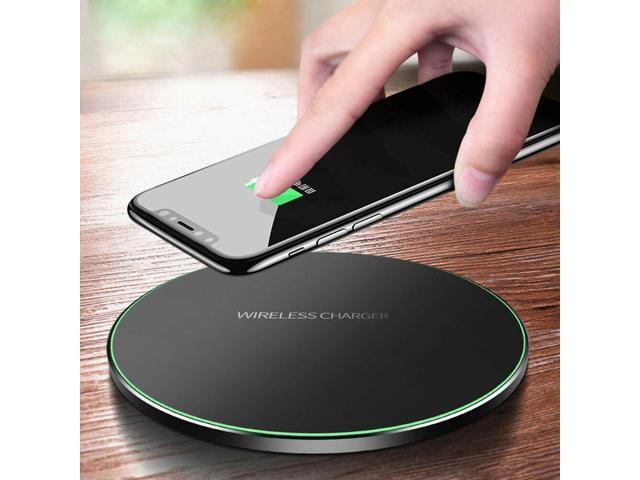 huge selection of 5468f e180d 10W Metal Qi Wireless Charger Fast Charging Mat For iPhone XS Max S10 S9 -  Newegg.com