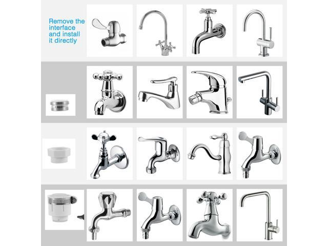 Faucet Water Filter System Kitchen Sink Mount Filtration Tap Purifier Cleaner