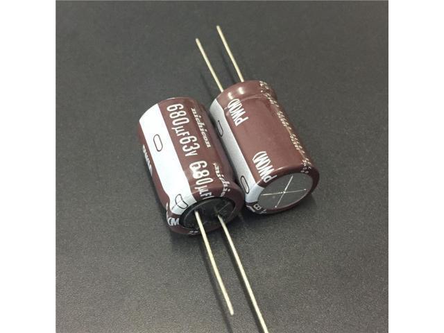 10pcs 39UF 50V  NICHICON PJ 50V39UF Low Impedance Long Life Capacitor 6.3x11mm