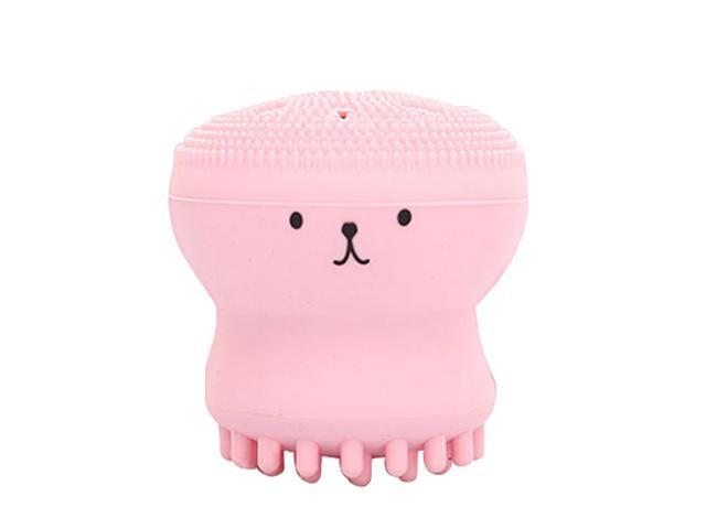 Silica Face Cleansing Brush Pore Cleaner Face Scrub Brush Small