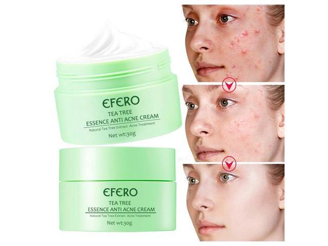 Acne Treatment Cream Tea Tree Face Essence Anti Acne Scar Removal