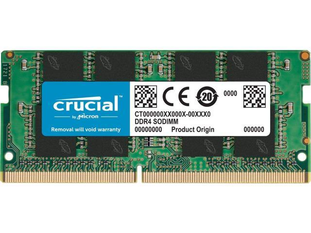 Crucial 32GB Single DDR4 2666 MT/s CL19 SODIMM 260-Pin Memory ...